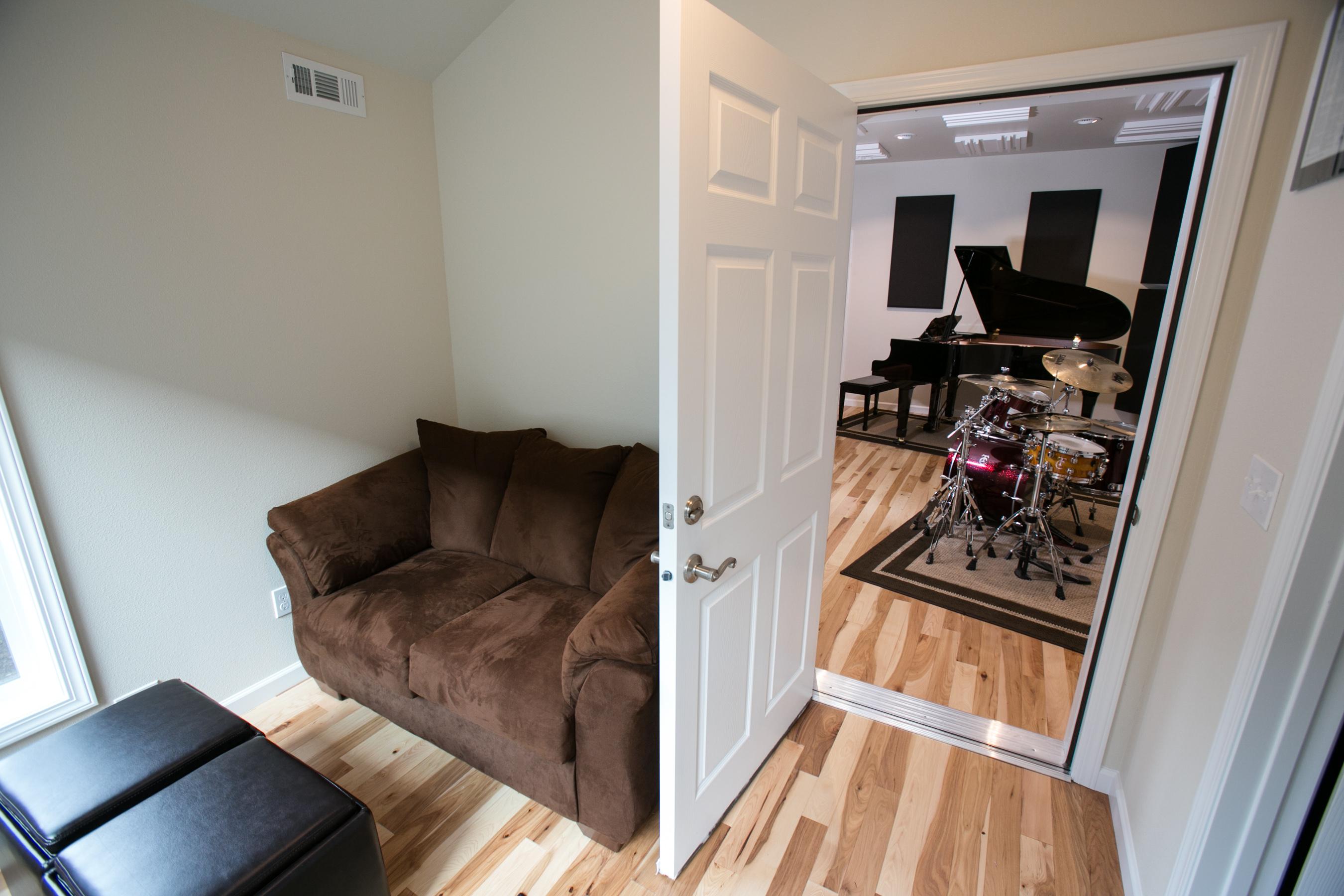Studio doorway