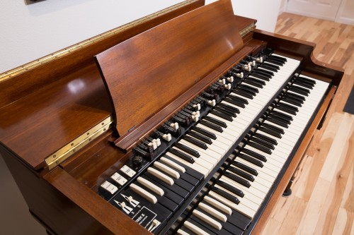 1954 Hammond B2 with TrekII Harmonic Percussion & Two-Speed Leslie 21H